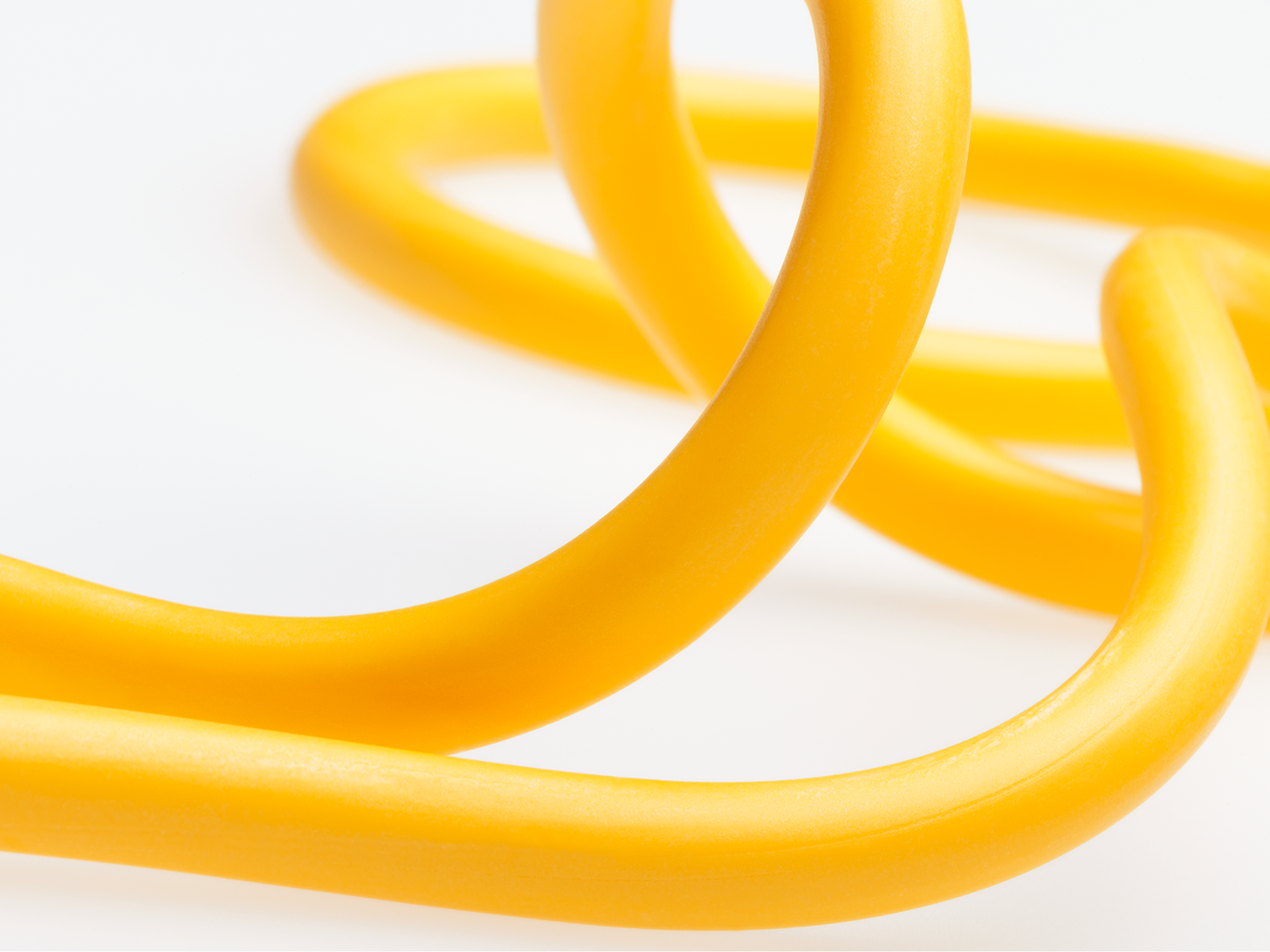yellow plastic filament